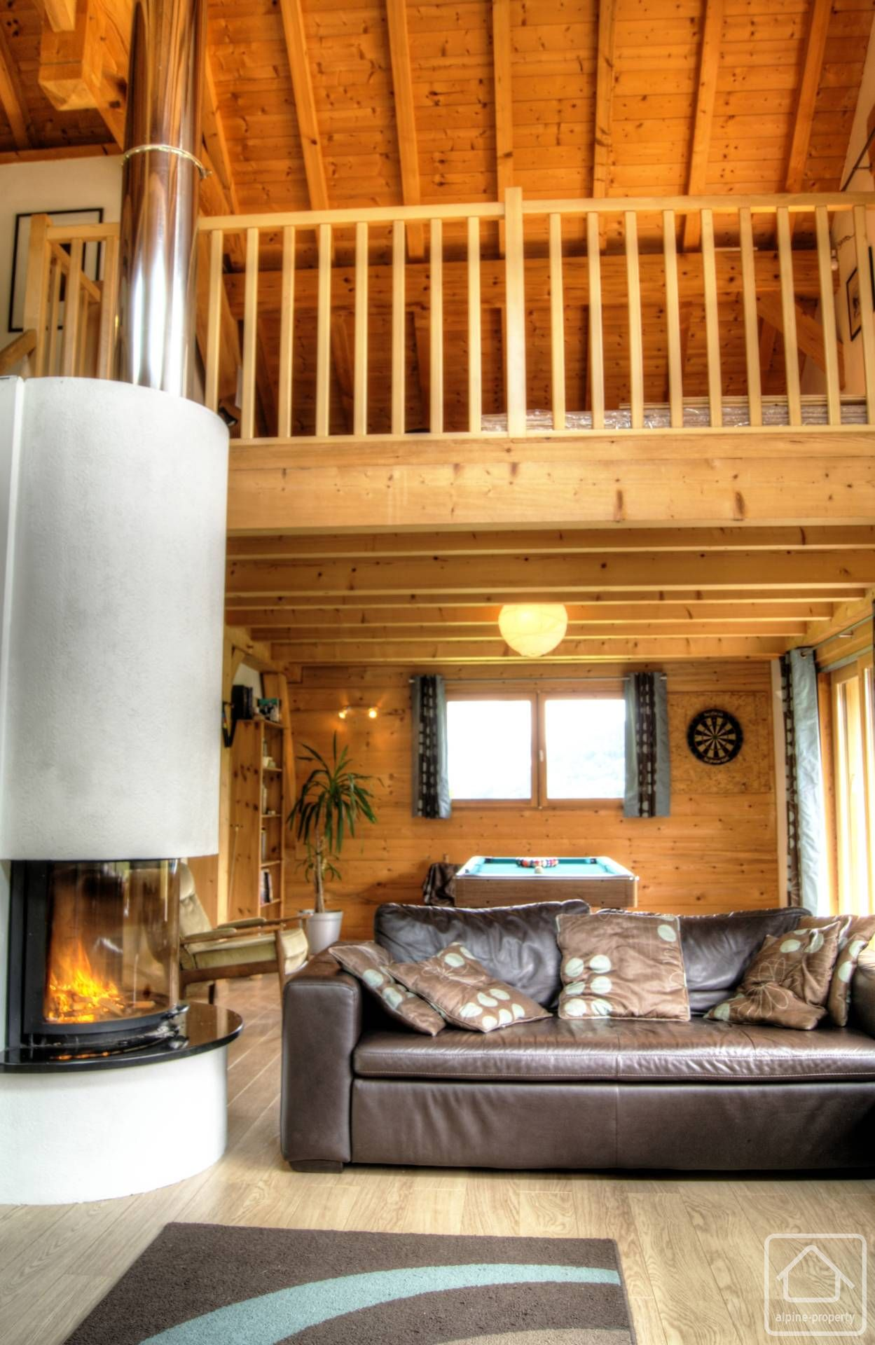 Chalet Serrand Alpine Property Estate Agent In The