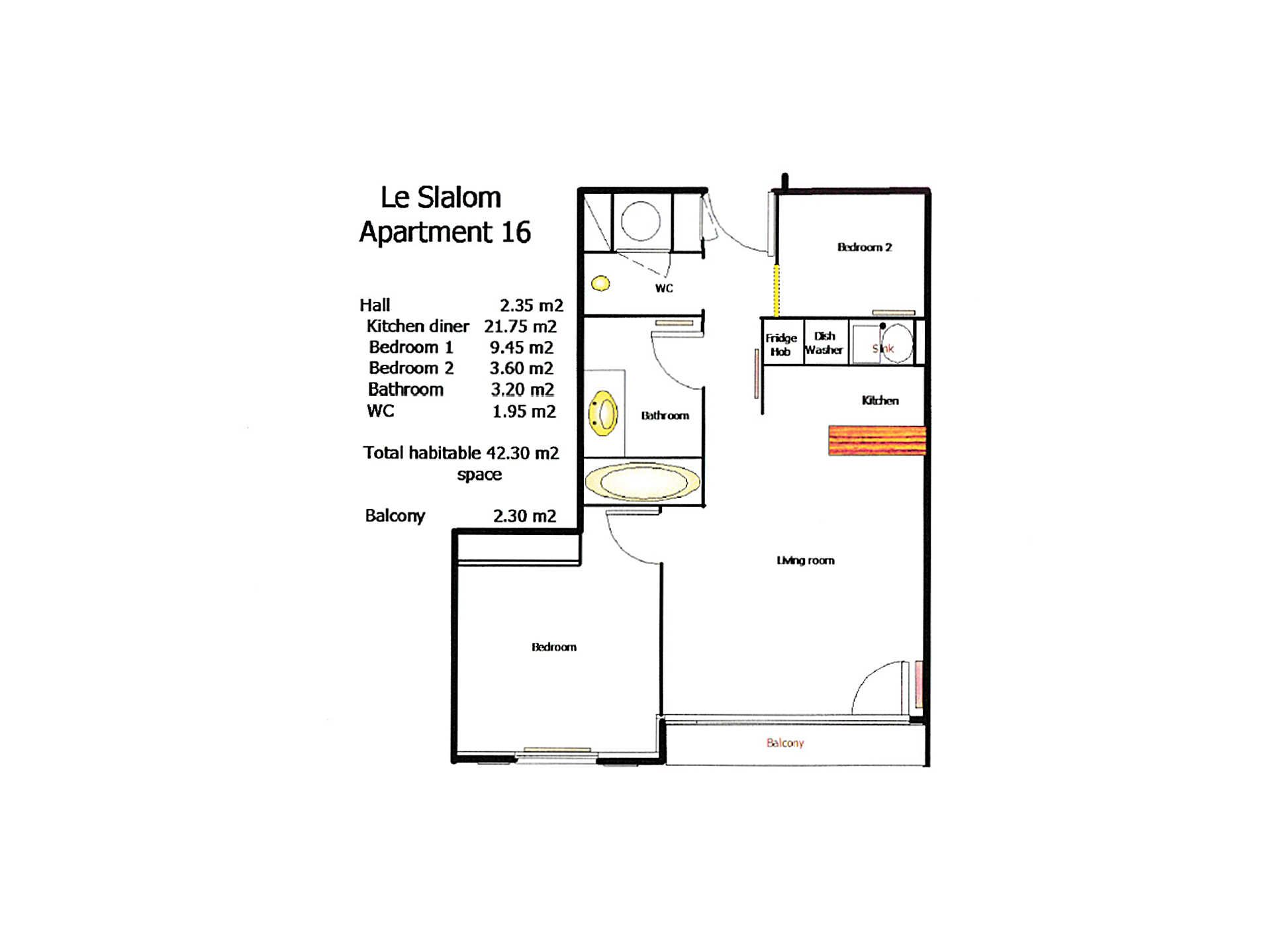 Appt Slalom 16 Alpine Property Estate Agent In The