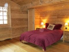 Chalet Fleur de Neige - Top floor bedroom