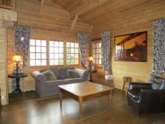 Chalet Fleur de Neige - The living room (1)