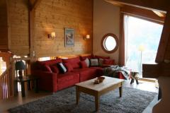Chalet Robri - The lounge (1)