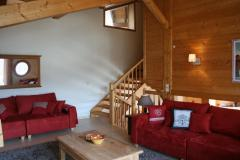 Chalet Robri - The lounge (2)